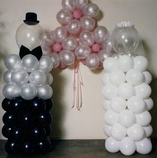 balon karakter - weeding