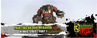 Meganoble Orko con mega-armadura y kombiakribillador-achicharrador