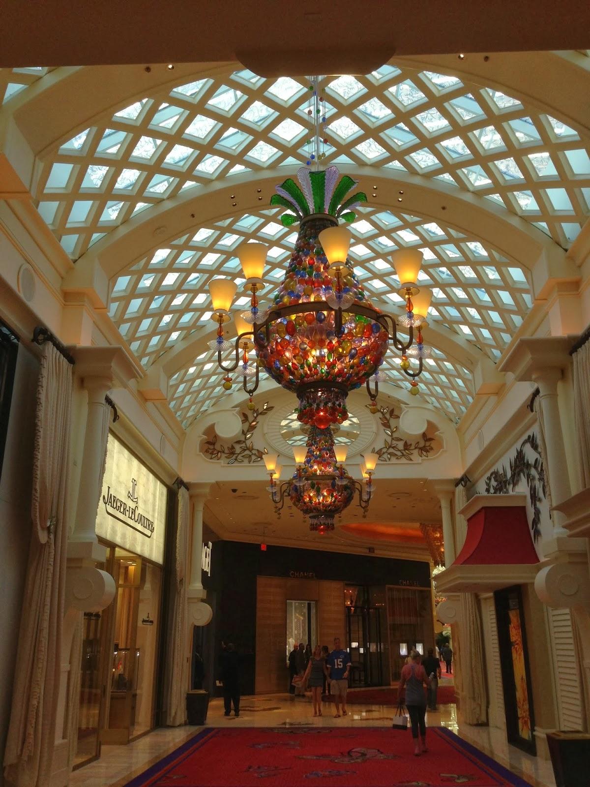 Wynns Las Vegas Ceiling Detail