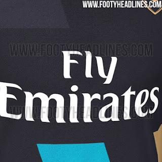 detail gambar bocoran leaked musim depan Bocoran jersey Arsenal third musim depan 2015/2016 di enkosa sport