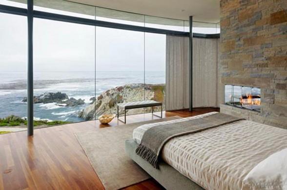 Modern Seaside House Design Bedroom Interior