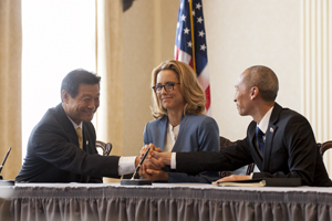 Madam Secretary - Episode 1.04 - Just Another Normal Day - Press Release