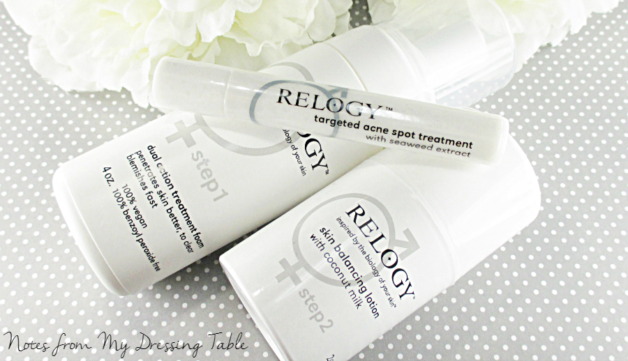 Relogy Skin Care Review notesfrommydressingtable.com