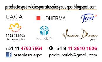 Venta de Productos - Liliana Puratich - podpuratich@gmail.com