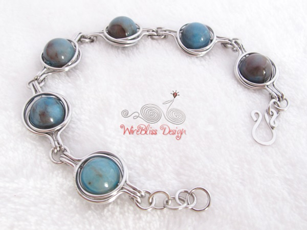 Twice Around the World (TAW) Bracelet by WireBliss