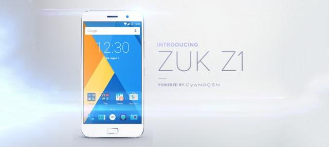 Lenovo ZUK Z1 Smartphone $330 Launch October