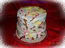 Tavaszi emeletes torta