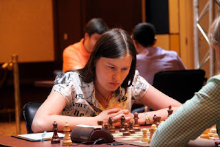 Échecs à Moscou : Natalia Pogonina (2448) - Photo © site officiel