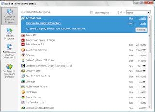 Cara Mudah Menguninstal Software Di windows