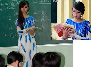 Co giao dep nhat viet nam 007 Chân dung cô giáo đẹp nhất Việt Nam