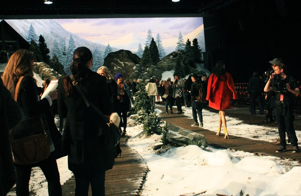 Tommy Hilfiger Behind The Scenes NYFW FW 2014 February