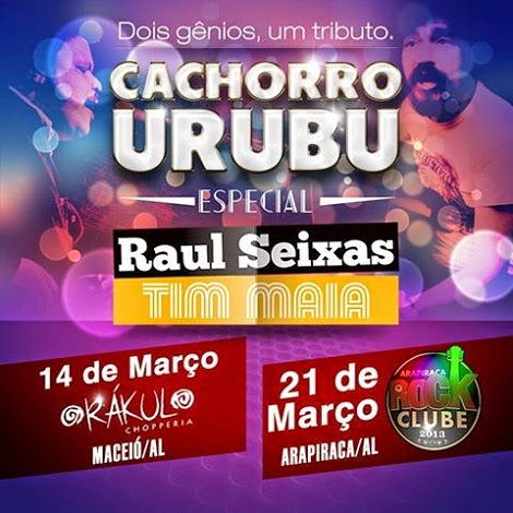 21 e 14-03-2015 - CACHORRO URUBU - Maceió e Arpiraca - AL