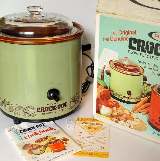 avacado green nostalgic kitchen the original genuine retro slow cooker