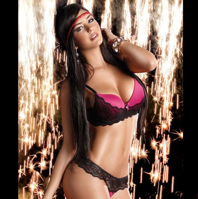 Mariana Davalos Sexy in Lingerie
