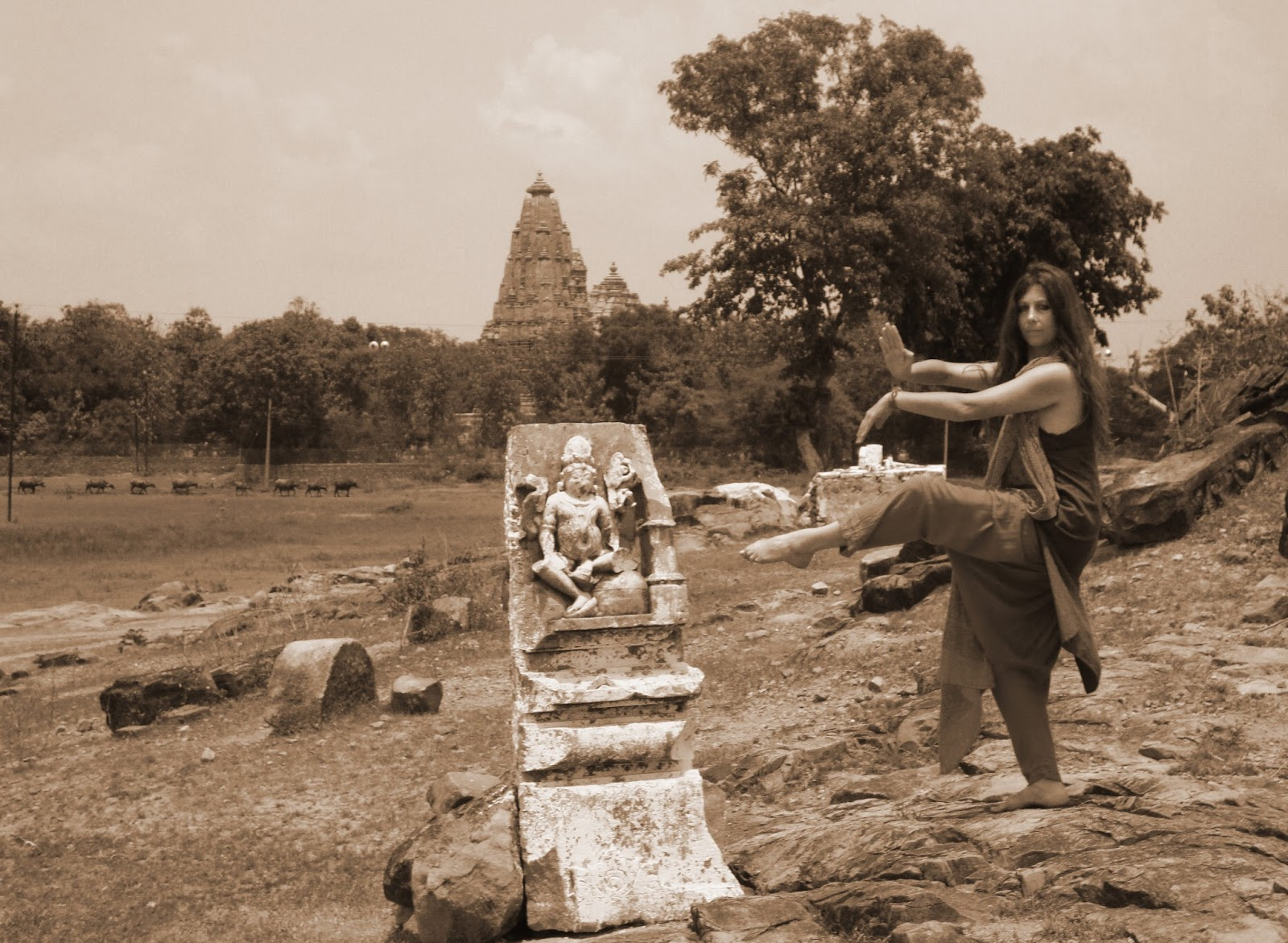 Tempio Yogini Khajuraho