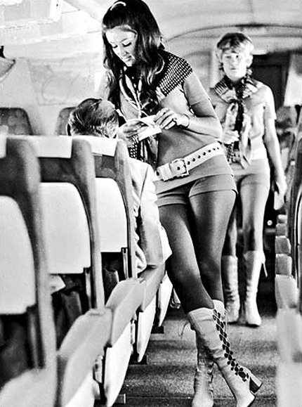 Southwest stewardess of the 60s