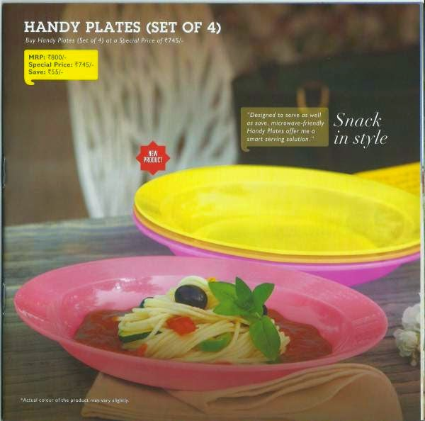 Handy Plates Set of 4