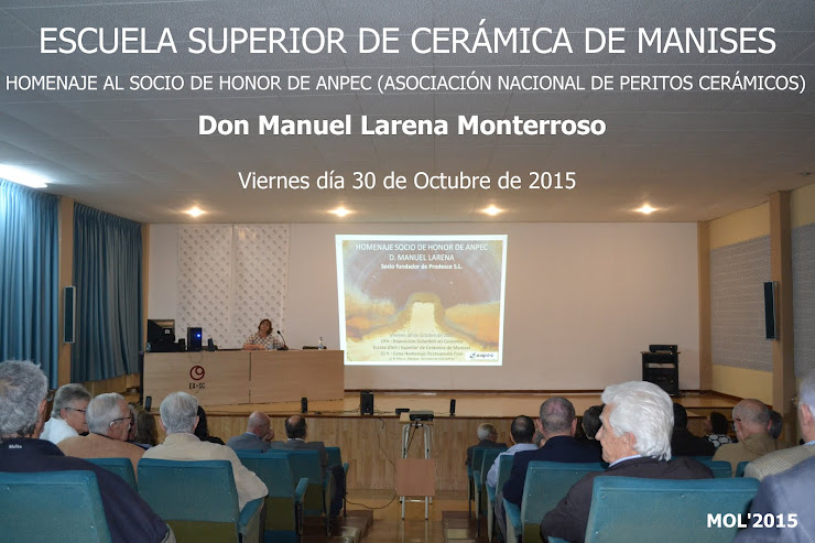HOMENAGE A DON MANUEL LARENA - PRODESCO SL