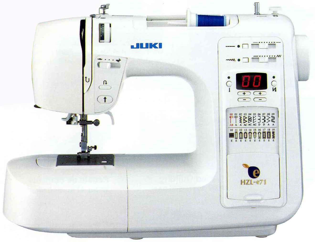 Fahad baokbah trading est juki hzl e71 for Janome memory craft 350e manual