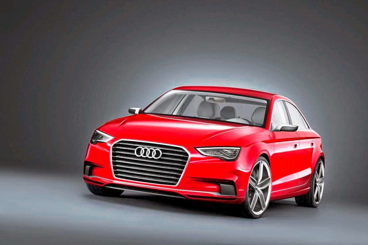 Audi Latest Cars Red Color Wallpapers