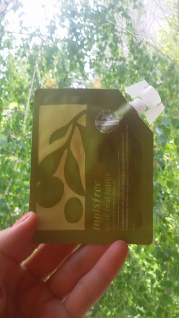 Оливковый лосьон Innisfree, 10 мл