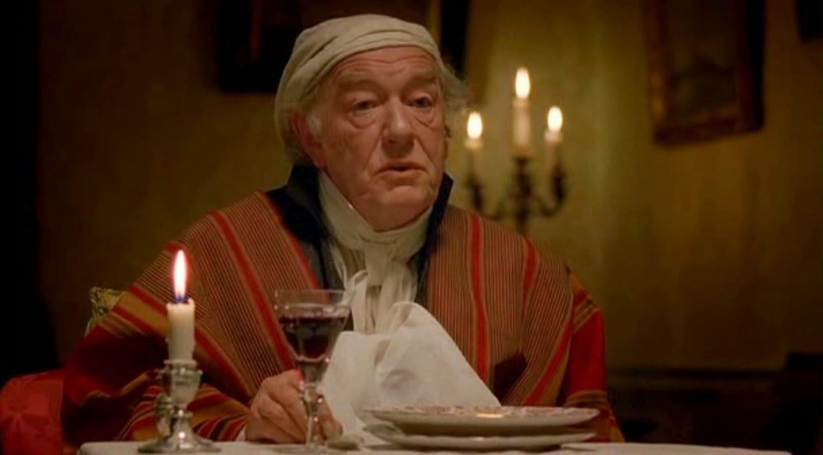 Emma 2009 - Michael Gambon as Mr Woodhouse