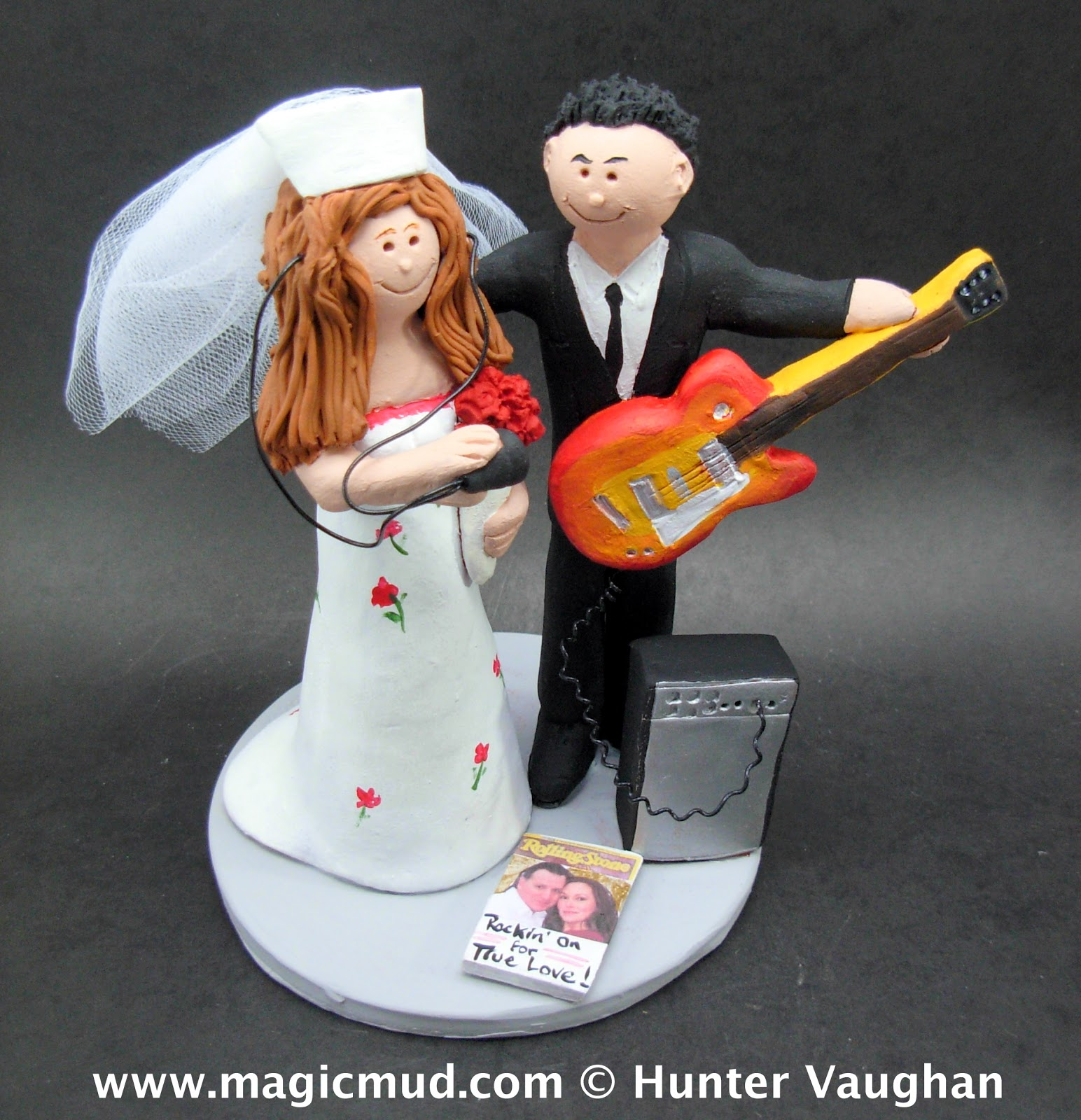 Wedding Cake Topper For A Nurse