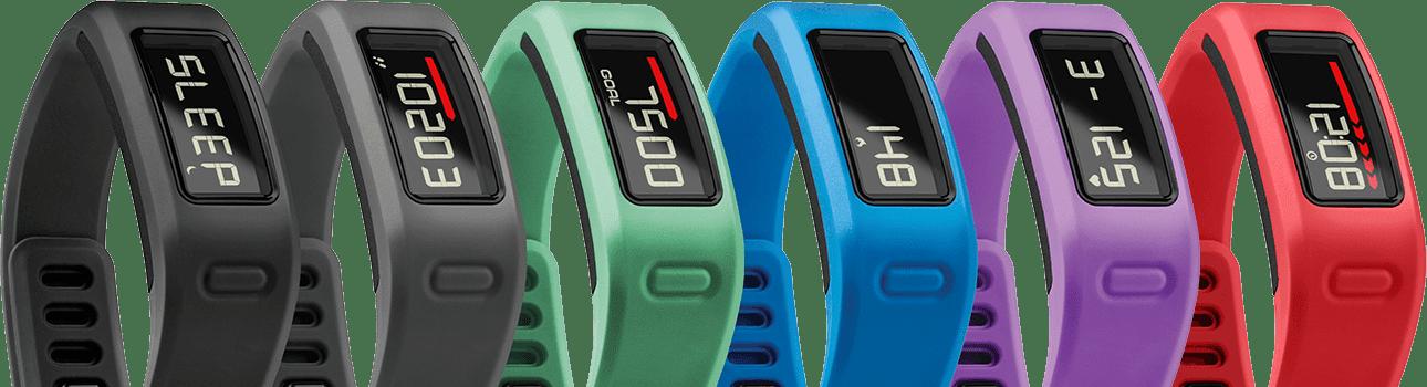 Garmin Vivofit bracelet design d'activité podomètre connecté