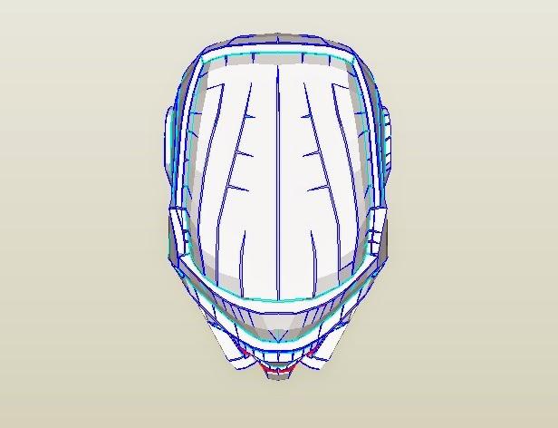 Dali Lomo Guardians Of The Galaxy Star Lord Costume Mask DIY 2014