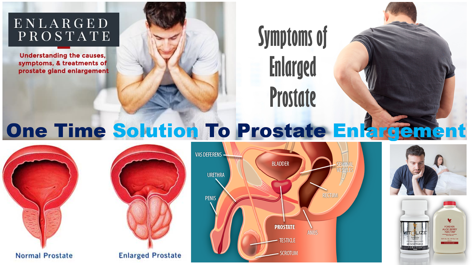 One Time Solution To Prostate Enlargement