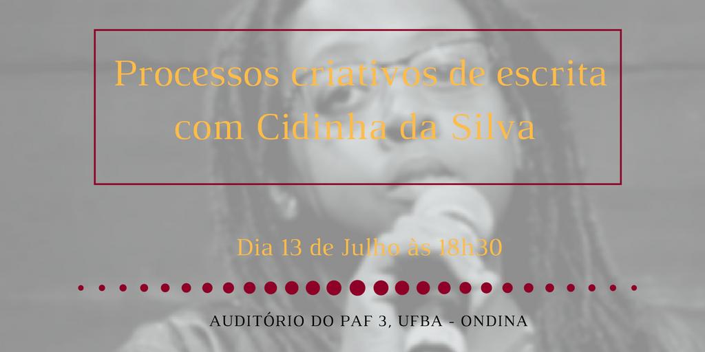 Bate-papo no PAF 3 da UFBA (Ondina, Salvador) - 13 de julho de 2017