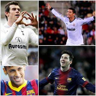 Bale-Cristiano-Neymar-Messi