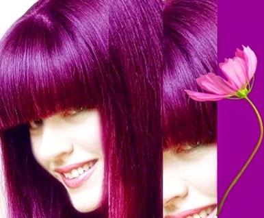 Color Violeta Fantasía Tinte