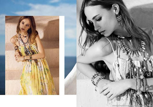 Vestidos primavera verano 2016 Rapsodia.