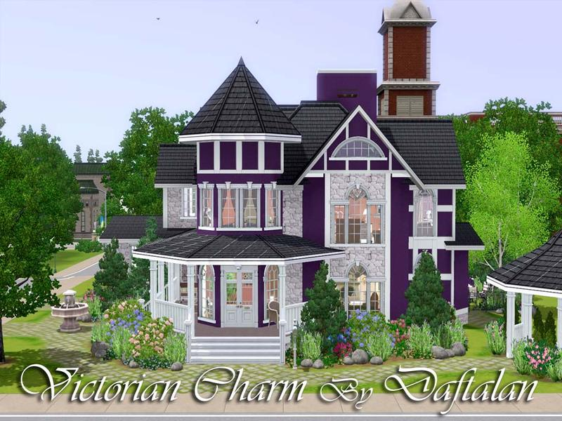 Awesome Sims 3 Victorian House 12 Pictures Home Building