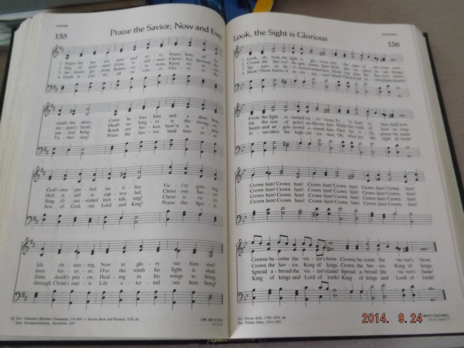 A Lutheran Hymnal that I found at the thrift store to use for art journaling.