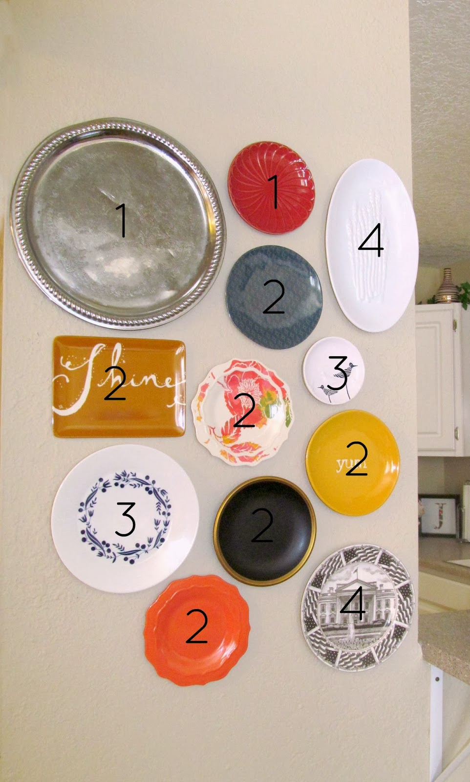 How to Collect Plates to Make a Plate Wall