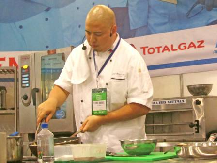 TotalGaz Chef Bruce Lim