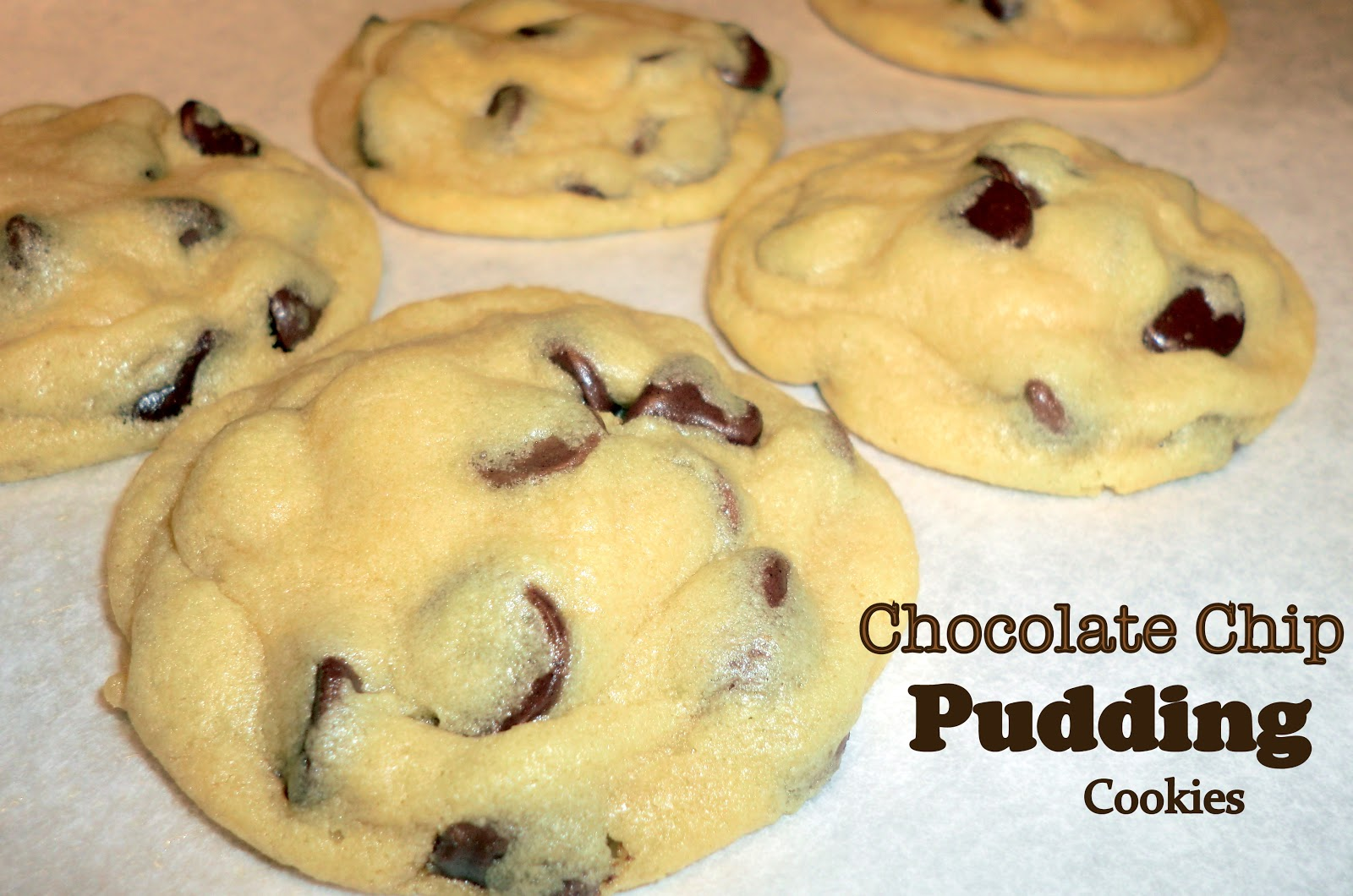 The Cookie Jar: Chocolate Chip Pudding Cookies