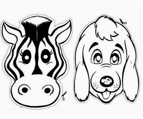 Il diario di un ragazzo comune o quasi disegni for Maschere da colorare animali