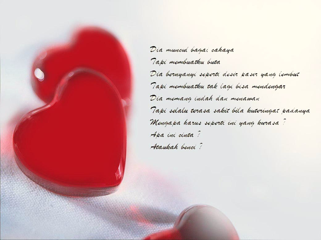 puisi cinta pendek romantis