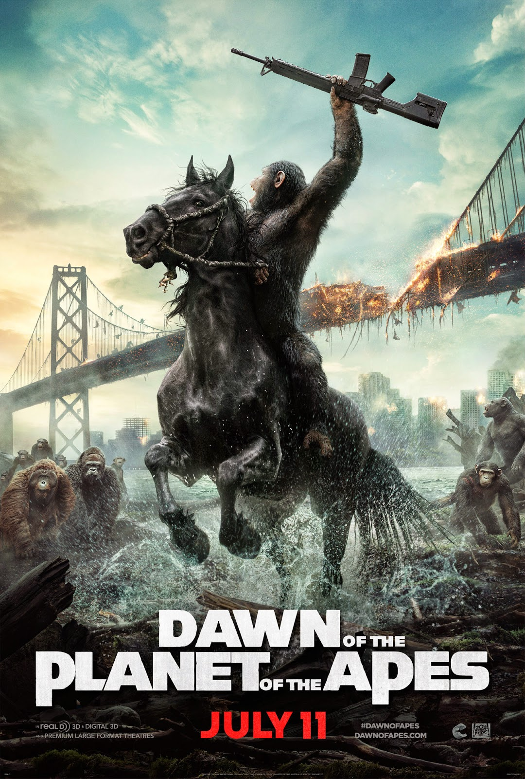 ... FREE HQD: Dawn of the Planet of the Apes (2014) Movie Hd Download Free