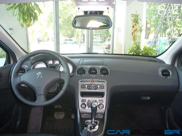 Peugeot 408 Allure 2012 Automático - painel