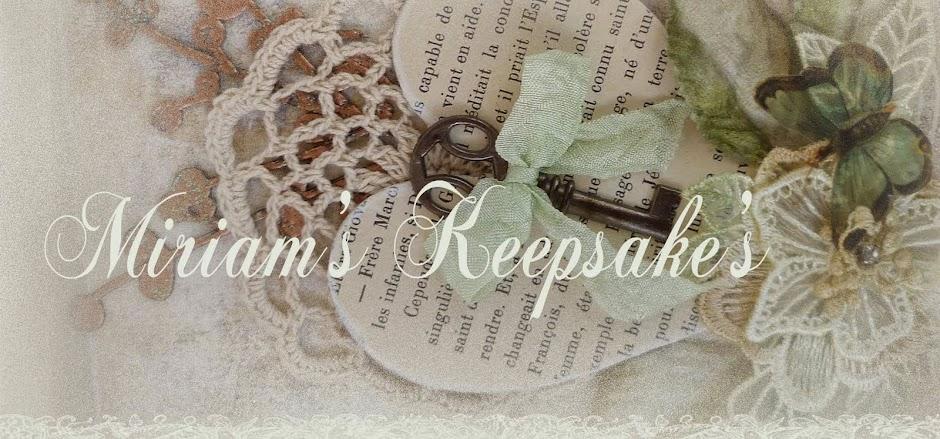 Miriam's Keepsake's