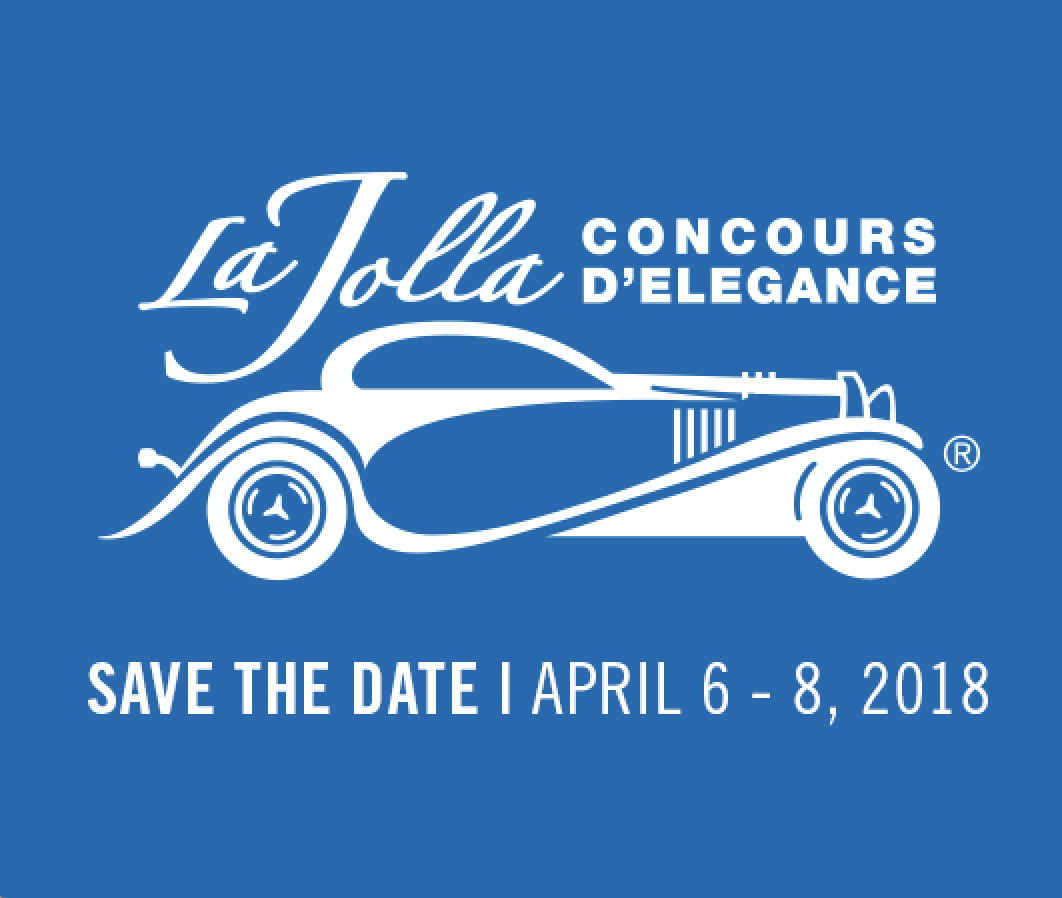 Use promo code SDVILLE to save big on any and all tickets to the La Jolla Concours D'Elegance!