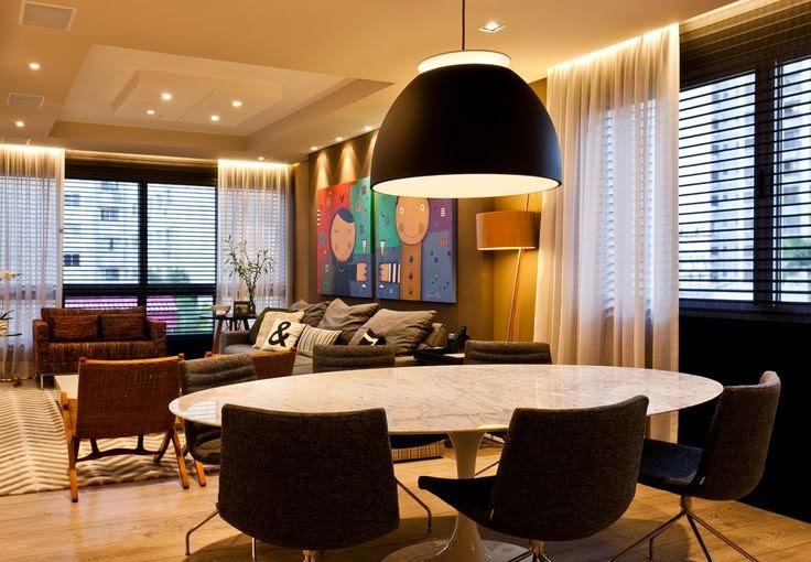 Sala De Jantar Rebaixada Com Gesso ~ ideias de Gesso de Teto decorado rebaixado preço  DECORA