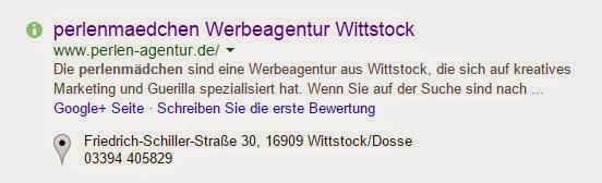 SEO Seitenbeschreibung Suchmaschine