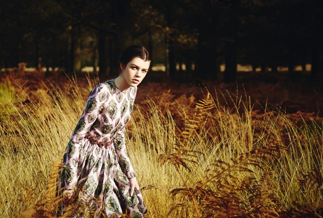 Dolce & Gabbana 2015 SS Pink Silk Organza Sacred Heart Dress Editorials