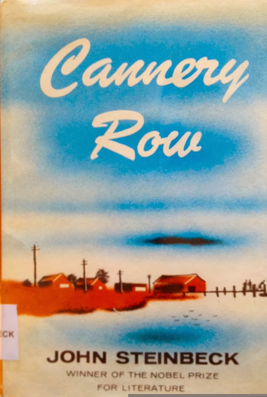 the use of vivid imagery in the novel cannery row by john steinbeck