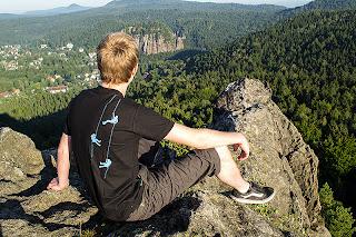 Unser Kletterer-T-Shirt im Test in der Oberlausitz